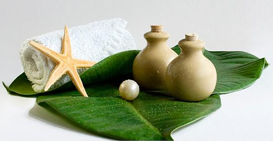Водорослевой пилинг-массаж